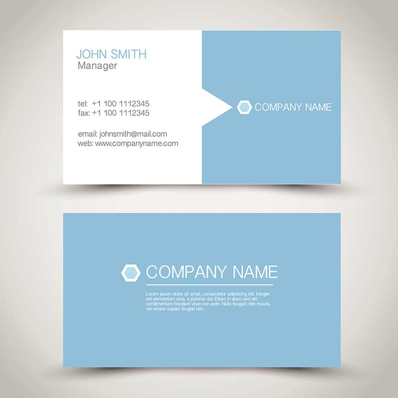 Standard business cards xymoprint standard business cards colourmoves